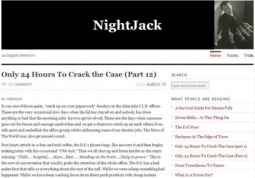 The former 'NightJack' blog