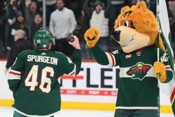 Nordy the hockey mascot