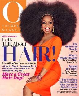 The September issue of O, The Oprah Magazine