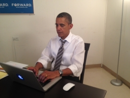 Image provided by Reddit to verify Barack Obama was participating.
