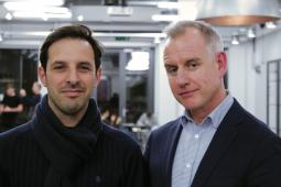 Cheil London CEO Peter Zillig and Russell Schaller