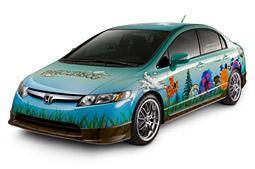 Panic at the Disco's Honda! Civic Hybrid
