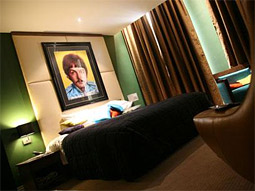 The Paul McCartney Suite at the Hard Days Night Hotel