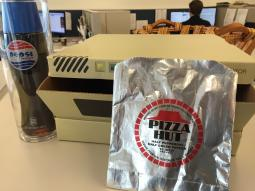 Back to the Future: Pizza Hut's dehydrated pizza