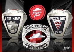 Pizza Hut ESPN Fantasy Football Ring