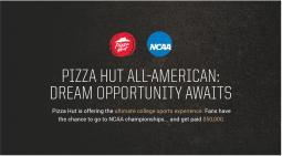 Pizza Hut NCAA All-American