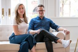 Joanna Crean and Rasmus Keger