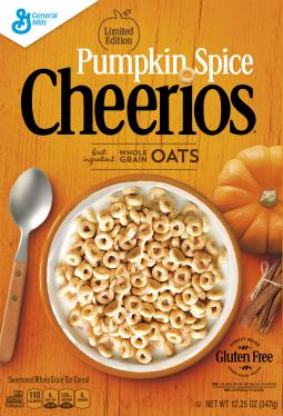 Pumpkin Spice Cheerios is a fall limited edition flavor and will launch around Labor Day.