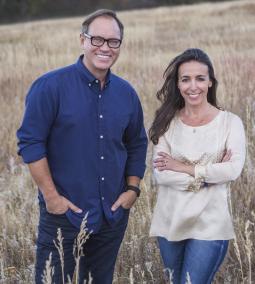 Tim Roper and Lisa Effress