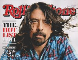 Rolling Stone's Dec. 4, 2014 issue, where the now retracted campus rape story ran.