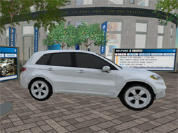 Acura, through a deal with Reuters, is promoting and giving away virtual SUVs to Second Lifers.