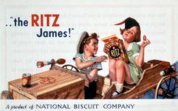 Vintage Ritz ad