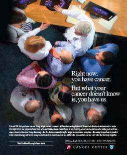 SMP campaign for Dana-Farber Cancer Center.