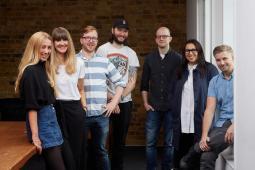 Dan Fryer, Gate Lambert, Charlotte Prince, Loriley Sessions, Gary Lathwell, Gareth Butters and Daniel Evans