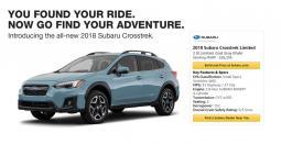 Amazon Subaru ad