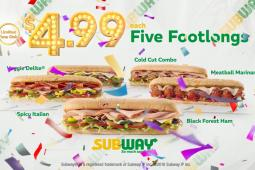 Subway Price is Right