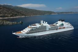 Seabourn Quest luxury cruise ship.