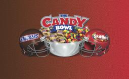 Mars and Wrigley are conducting their second joint sales program leading up to the Super Bowl -- 'The Candy Bowl,' encouraging people to choose whether they are Team Skittles or Team Snickers.