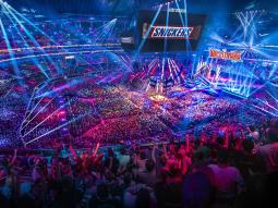 WWE and Snickers have renewed their partnership for WrestleMania 33