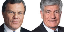 Martin Sorrell and Maurice Levy