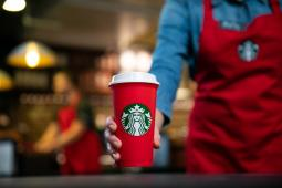 Starbucks has a reusable red holiday cup this year