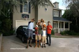 NBA players star as a sitcom family in