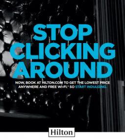 Hilton's marketing campaign