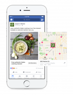 Facebook is rolling out a consumer-facing product, Store Locator, among other features designed to help marketers get people in their offline shops.