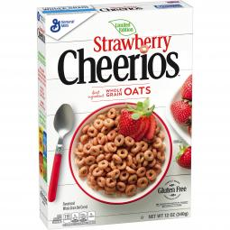 Strawberry Cheerios is a Spring limited edition flavor