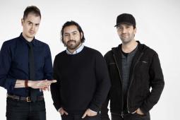(L-R) Patrick Biesmans, Nick Enriquez, Jay Karas