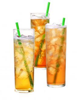 Teavana Shaken Iced Tea Infusions.