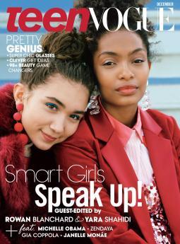 Teen Vogue's December 2016 Cover.