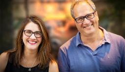 Lisa Masseur and Reid Brody