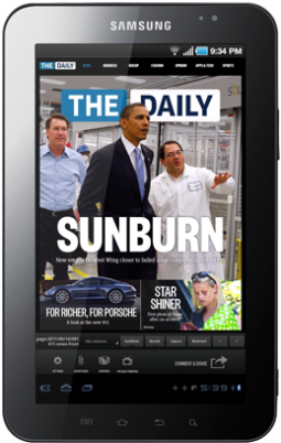 Originally billed as an 'iPad newspaper,' The Daily is coming to other devices.