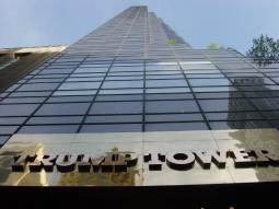 Trump Tower in New York, NY.