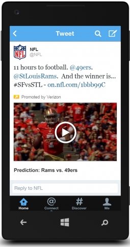 Twitter and the NFL Agree to Sell Video Ad Packages Together