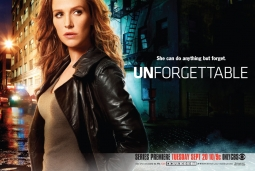 The print ad for 'Unforgettable' with a shortcode for readers to dial.