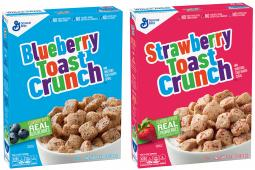 Blueberry Toast Crunch and Strawberry Toast Crunch
