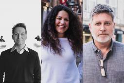 Will Claflin, Alaina Muniz, and Kevin Redmond