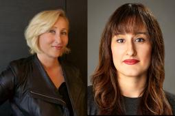 Marisstella Marinkovic and Sara Bamossy