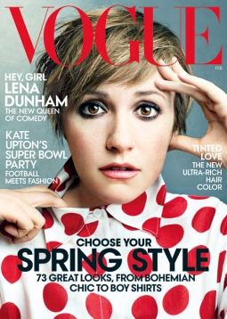 Vogue's February 2014 issue.