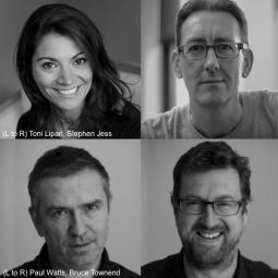 Toni Lipari, Stephen Jess, Paul Watts and Bruce Townend