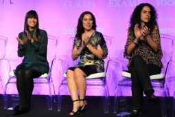 Fernanda Romano, Maria Luiza Askar Lopez and Paula Nader