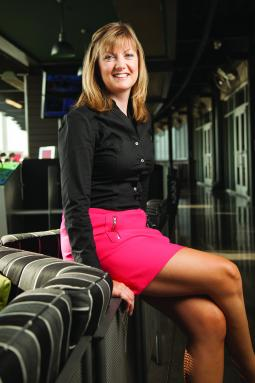Susan Walmesley, VP-sales and marketing at Topgolf.