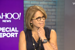 Katie Couric officially joined Yahoo full-time in June 2014.