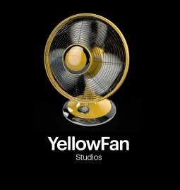 The logo for Sprint's internal YellowFan Studios.