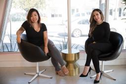 Denise Soberon and Jackie Guerra