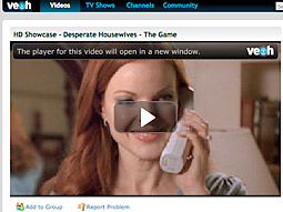 Making sure fans of 'Desperate Housewives' and the like will accept commercials in new venues is crucial to ABC.
