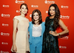'Pretty Little Liars' stars Troian Bellisario, Lucy Hale, Shay Mitchell