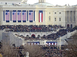 ABC News coverage of President Obama's inauguration.